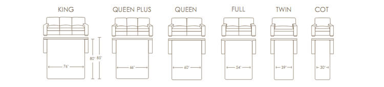 Sofa Sizes sofa dimensions. there is also a fixed size sofa separate product