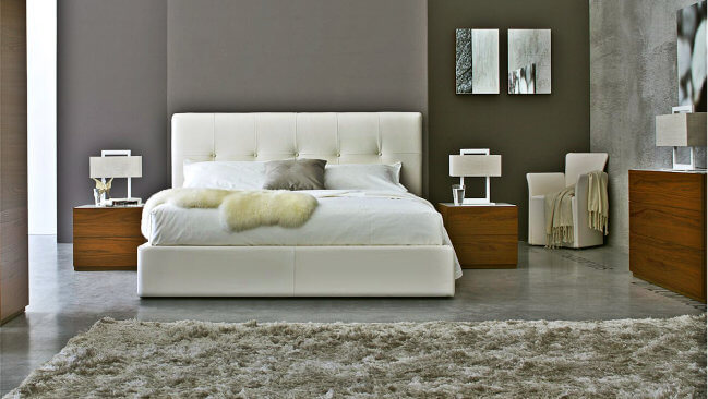 Bedroom_bed_nightstand_dresser_Italian_Smart_Design