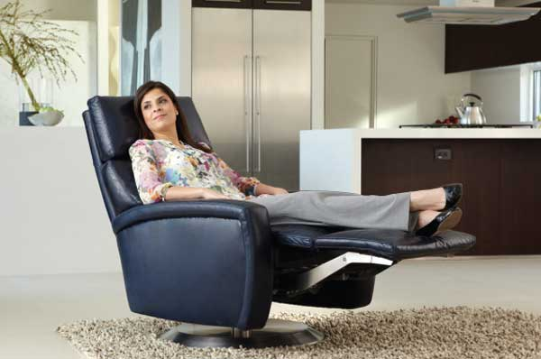American Leather Comfort Recliner - by Design Des Moines