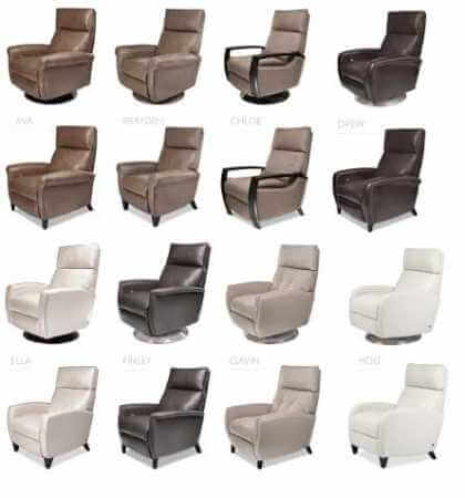comfort recliner styles-by design des moines