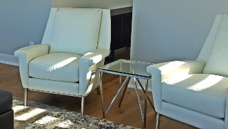 Harvey Leather chairs|by Design Des Moines