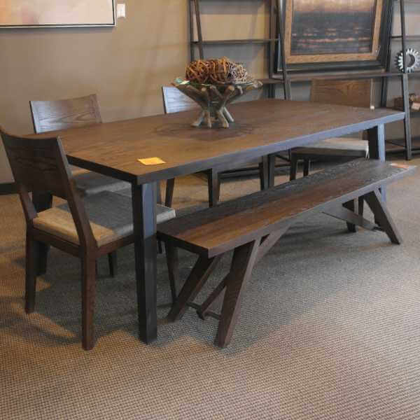 Weathered Oak Dining Group