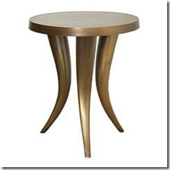 Picture of Miami Horn end table.