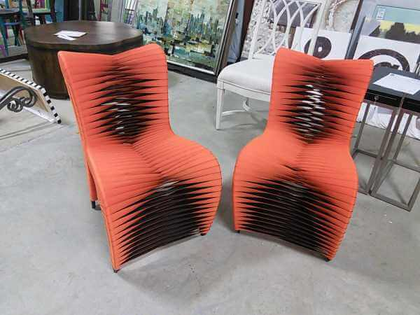 Lovely Orange Seat Belt Chairs! Just Like The Ones In The Movie, Hunger Games