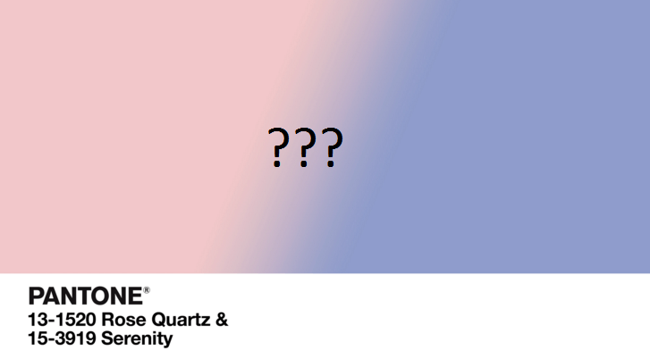 2016 Color of the Year: Rose Quartz and Serenity post image