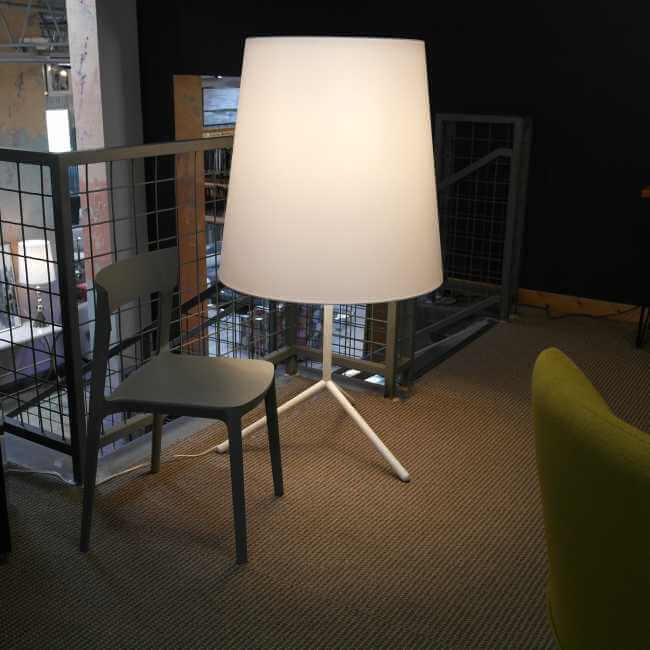 Big wave floor lamp aloadofball