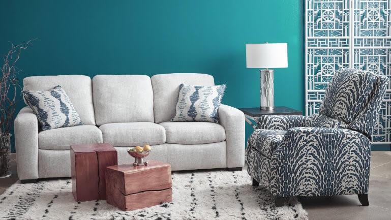Glendale-sofa-Lexington-recliner