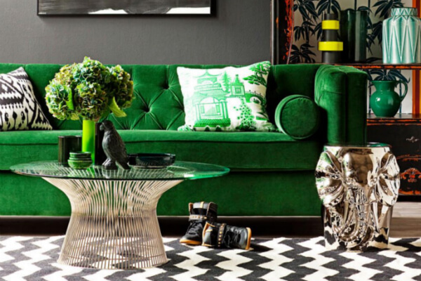 How to Decorate with Green post image