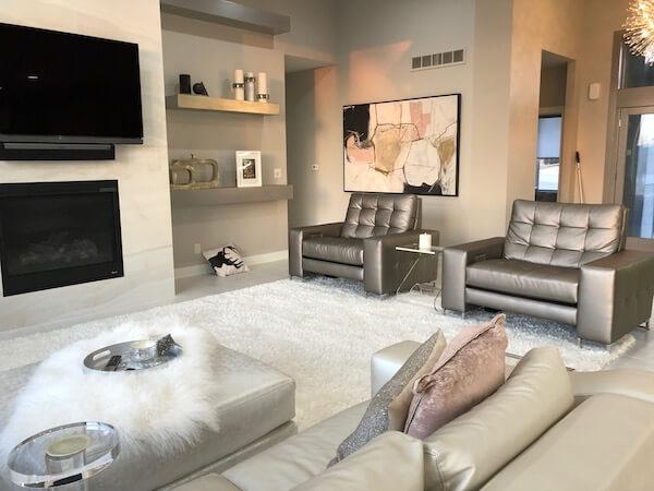 modern client room