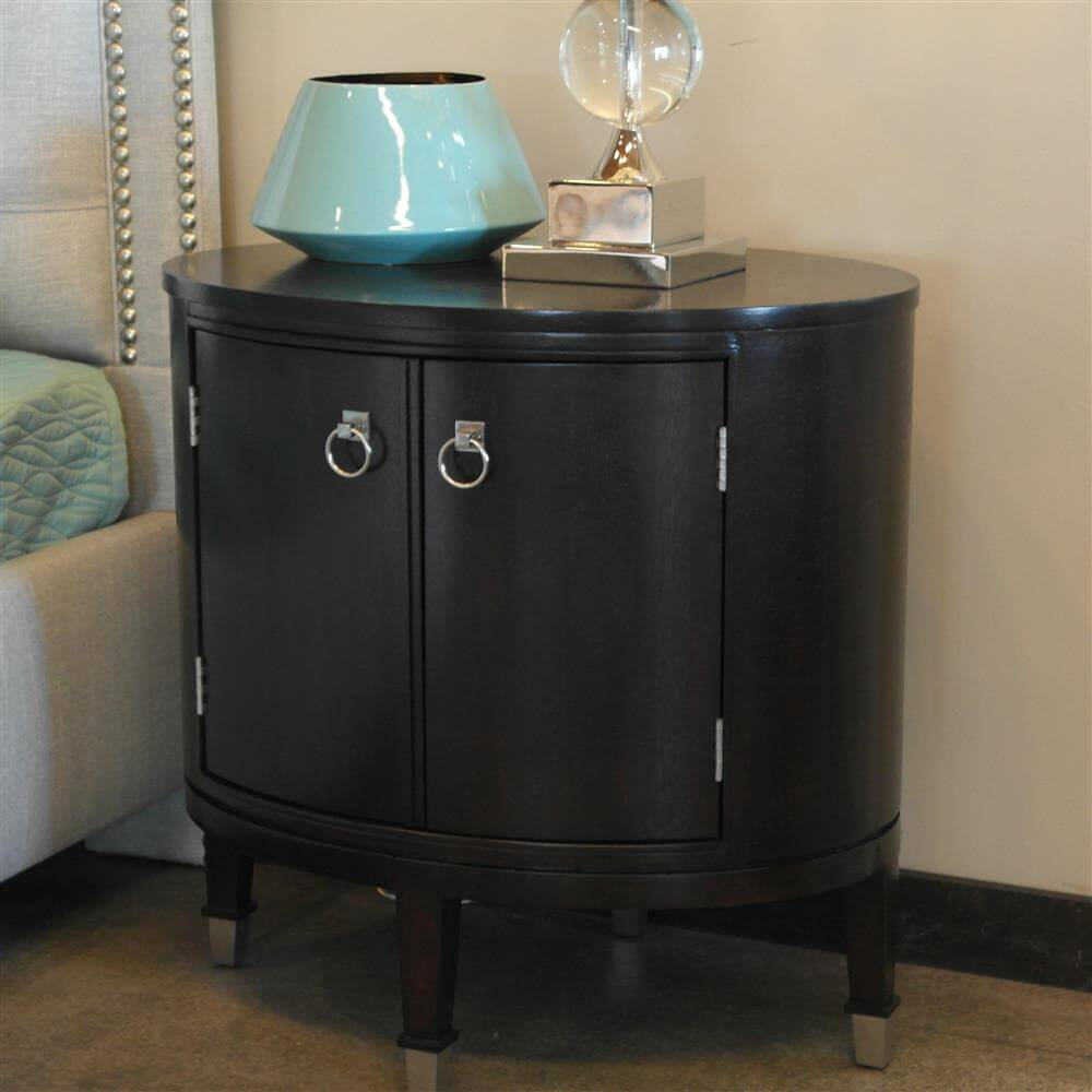 Maclaine Oval End Table