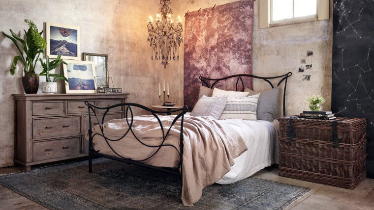 Sienna Iron Bed