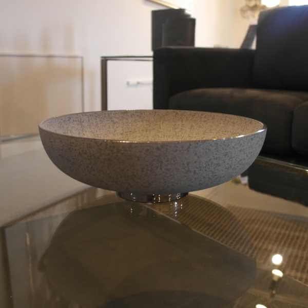 Siver Banded Bowl