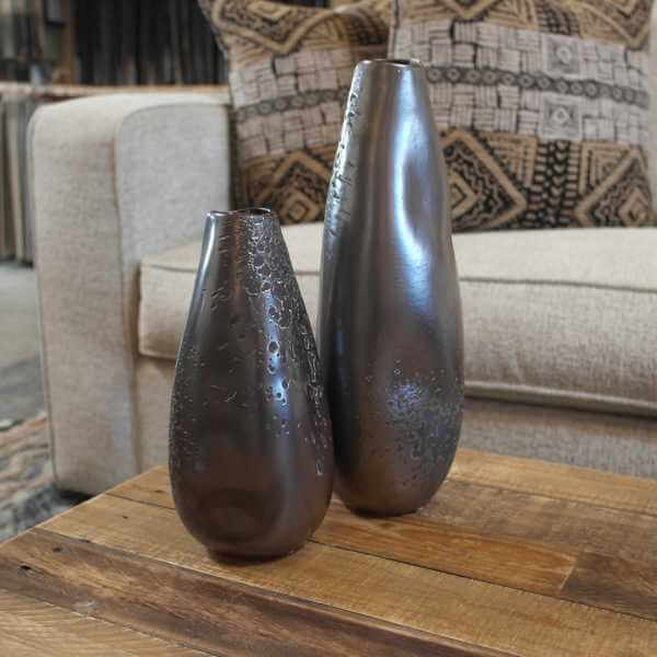 Smooth Vases - Graphite