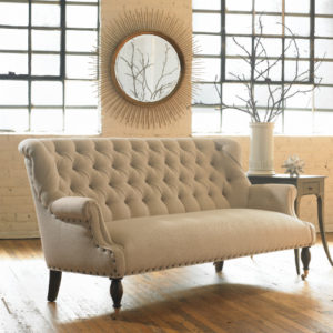 Charmant Find A Chair With A Great Exposed Wood Back U2013 Or A Richly Tufted Front In A  Surprising Fabric. Wingback Chairs Are A Staple Of Classic Design. Tufted  Sofa