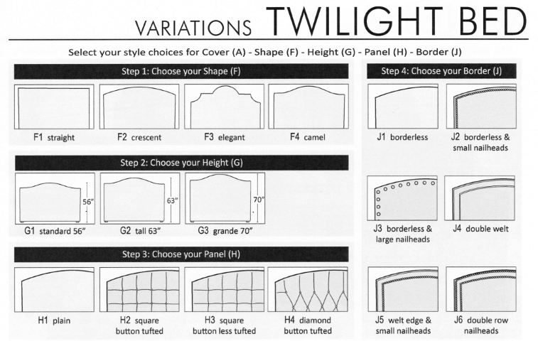 Twilight Bed Variations