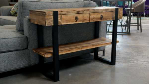 Two-Drawer-Console|by Design Des Moines