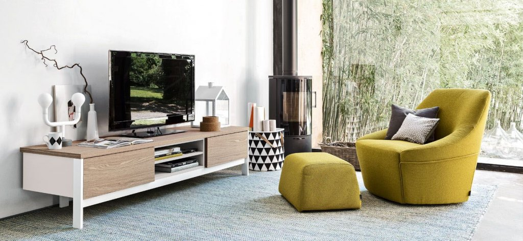 Factory TV Console