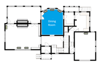 Restoration floorplan