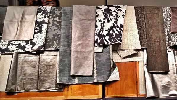 gray fabrics 2015 interior design color trend